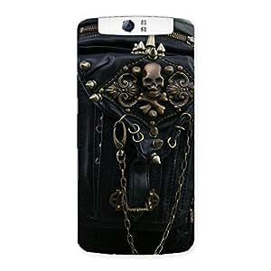 Ajay Enterprises Dangeress Zip Chain Back Case Cover for Oppo N1
