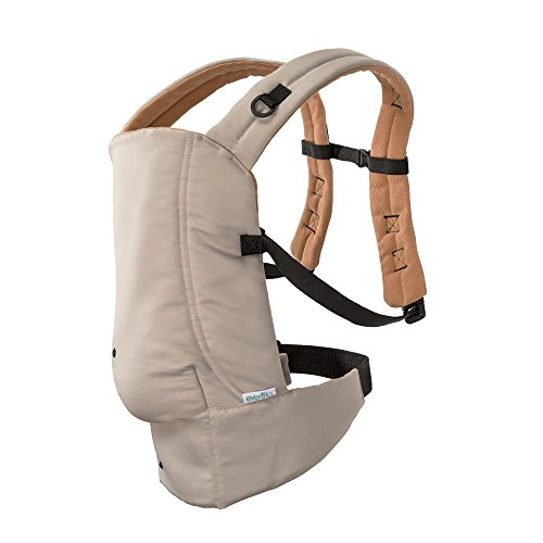 Best Review Of Evenflo Natural Fit Soft Carrier, Khaki Orange