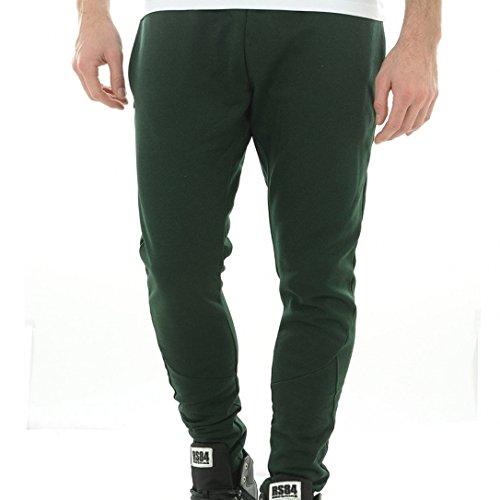 Jack & Jones -  Pantaloni sportivi  - Uomo verde Large