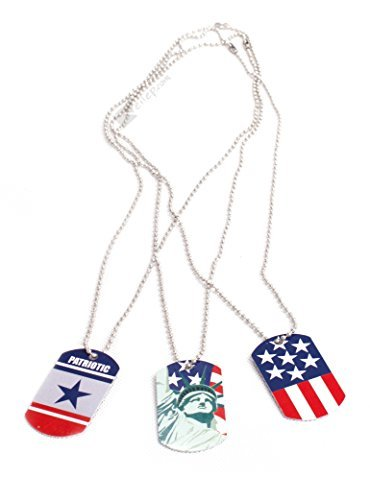 us-toy-patriotic-military-dog-tags-party-favors-red-whit-blue-by-us-toy