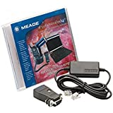 Meade 04513 No.506 Cable Connector Kit with Software for No.497 AutoStar Equipped Models (Black)