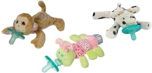 Wubbanub Infant Plush Pacifier - Limited Edition Set, Option 20 front-762940