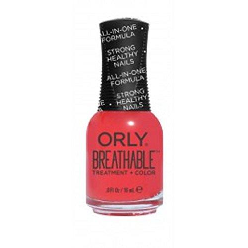 Orly traspirante Nail Lacquer-Trattamento + Colore bellezza essenziale-17G/18Ml