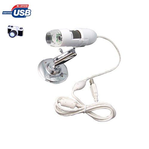 Brand New Usb Microscope Camera Portable 2.0Mp 200X With 8 Led