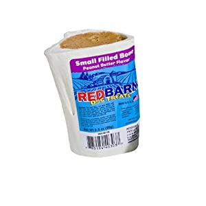 Redbarn Pet Products Filled Bone Small Peanut Butter, 1-Pack