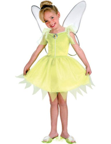 Fairies Tinkerbell Costume: Girl's Size 7-8