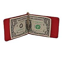Marshal Genuine Leather Wallet Money Clip #146C