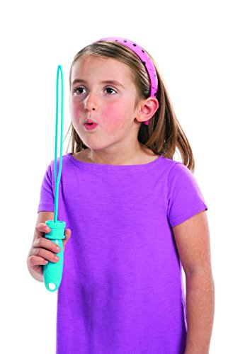 цены Little Kids FUBBLES Bubble Wand Party Pack (6-Pack), Yellow/Blue/Pink/Green/Orange/Purple