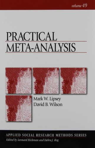Practical Meta-Analysis (Applied Social Research Methods)
