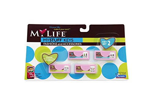 My Life Fashion Key Set #2