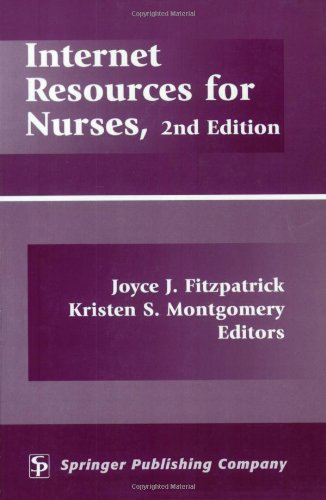 Internet Resources For Nurses: 2Nd Edition front-569416