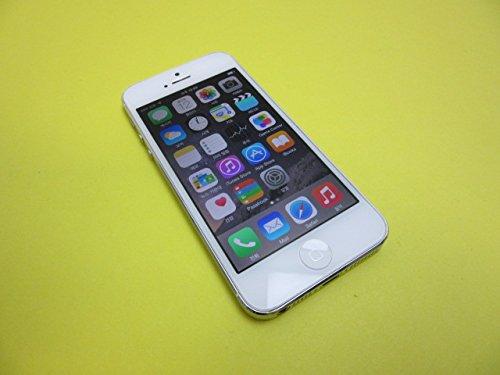 SIMFREE 海外 SIMフリー Apple iphone 5 32gb ホワイト シルバー シムフリー 携帯電話 アップル スマートフォン 本体 白ロム (並行輸入品)