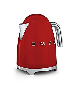 Smeg KLF01RDUK | 50's Retro Style Kettle in Red by Smeg