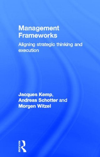 Management Frameworks: Aligning Strategic Thinking and Execution