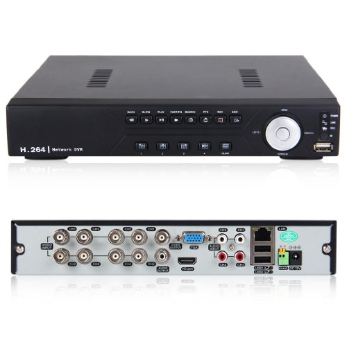 Sevesto 8 Channel Hdmi 960H /Full D1 H.264 Cctv Security Camera Video Recorder Cloud Dvr