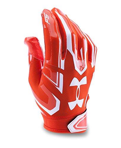 Under Armour Boys' F5 Football Gloves, Dark Orange (860), Youth Medium