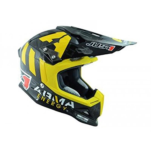 JU001327 - Casque Just1 J12 Arma Energy Carbone Brillant Xxl