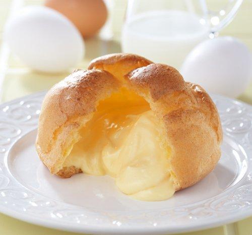 モンテール 牛乳と卵のシュークリーム (カスタードとホイップのミックスクリーム)