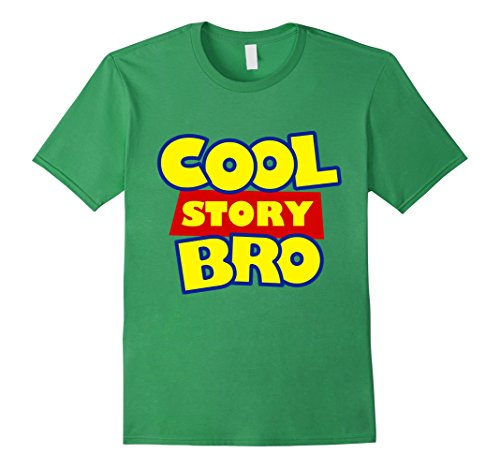 Men's Cool Story Bro T-Shirt | Cool Story Meme Shirt Large Grass (Cool Story Bro T Shirt compare prices)