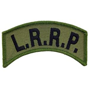 "U.S. Army Long Range Recon Patrol Patch Green 1 1/2"""