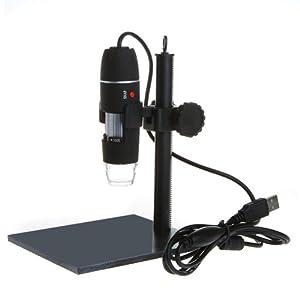 TOMTOP 500X 8LED USB Digital Microscope Endoscope Magnifier