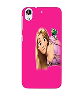 HTC DESIRE 626 GPLUS BEAUTIFUL GIRL Back Cover by PRINTSWAG