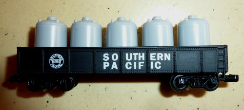"""N"" Scale Die Cast Train Cars Readers Digest Limited Edition Southern Pacific Railroad Cars~Canister Car - 1"