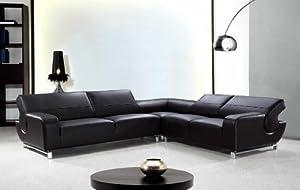 VIG Furniture VG2T0626 Divani Casa Motif - Modern Leather Sectional