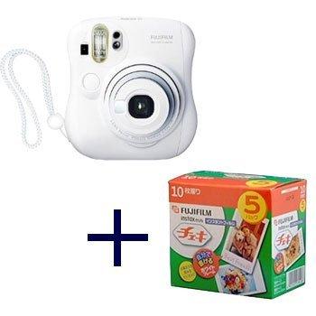 Fujifilm instax mini 25 Cheki White with Cheki film 5pack (10picture X5)