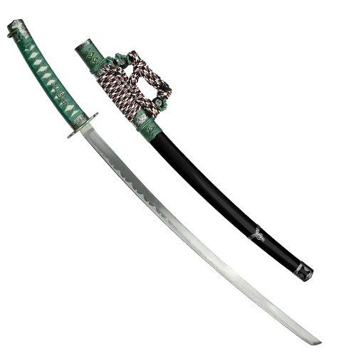 Whetstone Cutlery 20-Sw571 39-Inch Whetstone Cutlery Japanese Samurai Jintachi Multi Swords Series, Green