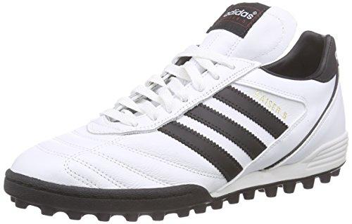 Adidas Kaiser 5 Team Scarpe da calcio allenamento, Uomo, Multicolore (Ftwwht/Cblack/Cblack), 44