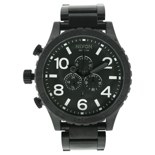 Nixon Herren-Armbanduhr Quarz Chronograph 1001 