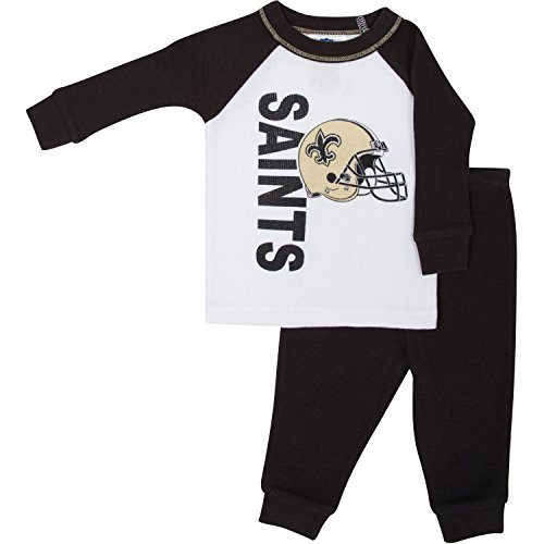 New Orleans Saints Baby Pajamas Price pare