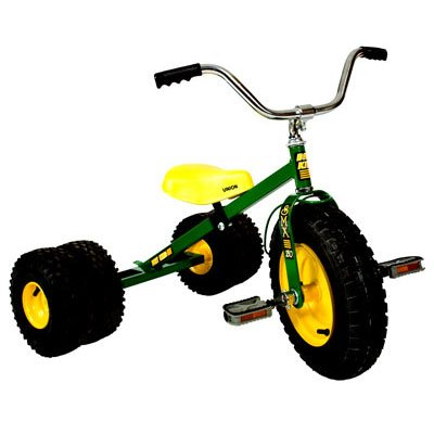 Dirt King Child's Dually Tricycle GREEN