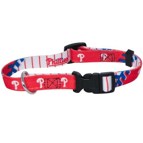 Hunter MFG Philadelphia Phillies Dog Collar, Extra Large hunter mfg los angeles angels dog collar extra small