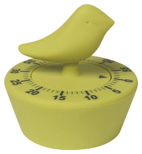 Now Designs Bird Timer, Cactus Green (Kitchen Timer Bird compare prices)