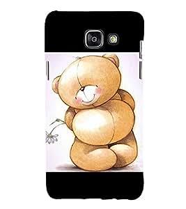 Cute Bear 3D Hard Polycarbonate Designer Back Case Cover for Samsung Galaxy A3 (2016) :: Samsung Galaxy A3 2016 Duos :: Samsung Galaxy A3 2016 A310F A310M A310Y :: Samsung Galaxy A3 A310 2016 Edition