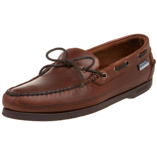 Sebago Men's Knockabout Boat Shoe,Brown Oiled