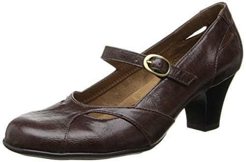 by Aerosoles Women's Marimba Dress Pump,Dark Brown Combo,10.5