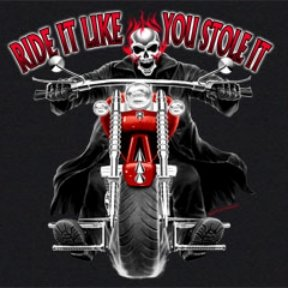 Buy Youth Sweatshirt : Ride It Like You Stole It – Skull Motorcycle Biker
