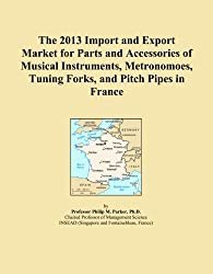 The 2013 Import and Export Market for Parts and Accessories of Musical Instruments, Metronomoes, Tuning Forks, and Pitch Pipes in France