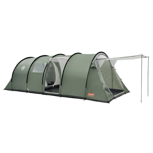 Coleman Coastline Deluxe Eight Man Tent - Green/Grey
