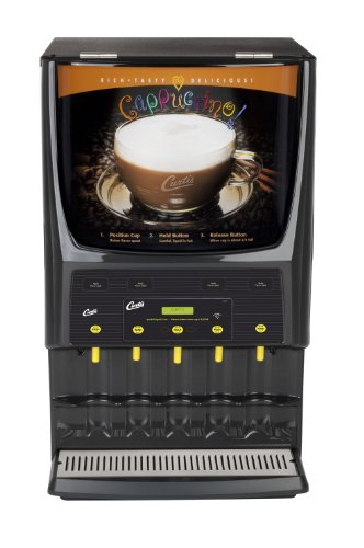Wilbur Curtis G3 System 5 Station Cappuccino (Three 5 Lb And Two 10 Lb Hopper) Lift Door - Commercial Cappuccino Machine - PCGT5300 (Each)
