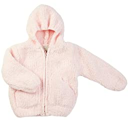 Angel Dear Baby Girls\' Fleece Zip Hoodie - Pretty Pink - 18 Months