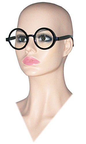 Deluxe Round Costume Glasses Sadness Glasses Sadness Costume Glasses Nerd Glasses