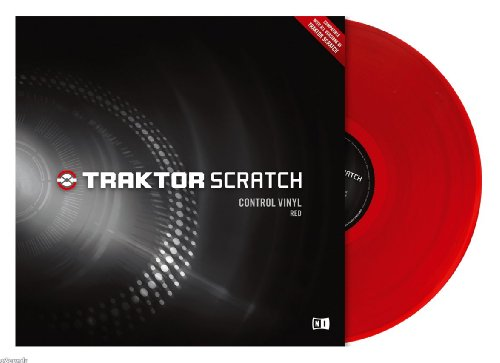 Native Instruments TRAKTOR SCRATCH PRO Control Vinyl, Red