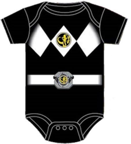 Power Rangers Black Baby Ranger Costume Romper Onesie (12-18 Months) Color: Black Size: 12-18 Months Model: (Power Ranger Model compare prices)