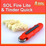 SOL FireLite and Tinder Quick Fire Starter