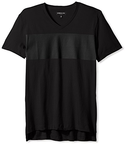 kenneth-cole-new-york-mens-rubber-print-crew-neck-shirt-black-xxl