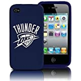 Oklahoma City Thunder iPhone 4 and 4S Case: Silicone Cover